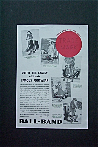 1936 Ball-Band Footwear with 5 Different Style of Shoes (Image1)