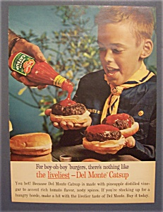1961 Del Monte Catsup with a Little Boy (Image1)