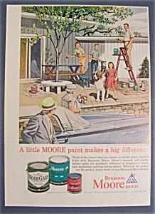 1961  Benjamin  Moore  Paints  By  Stevan  Dohanos (Image1)