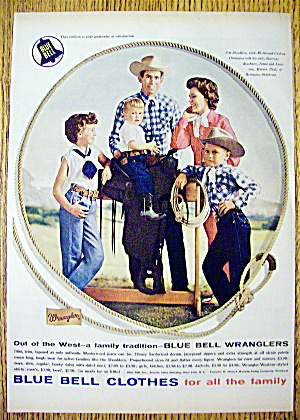 1959 Blue Bell Clothes with Jim Shoulders & Family (Image1)