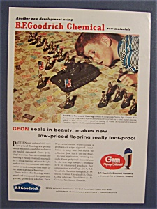 Vintage Ad: 1958 Geon Polyvinyl By B. F. Goodrich (Image1)