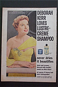 1957 Lustre-Creme Shampoo with Deborah Kerr (Image1)