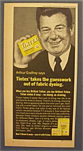 Vintage Ad: 1965 Tintex Fabric Dye with Arthur Godfrey (Image1)