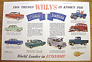1953 Willys With 2 Things Willy Is Known For
