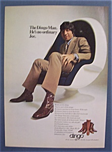 1971 Dingo Boots With Joe Namath (Image1)