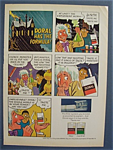 1971 Doral Cigarettes With Doral Has The Formula