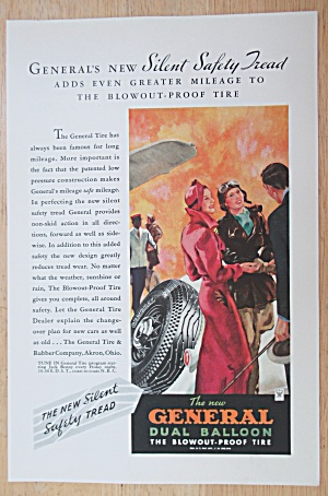 1934 General Dual Balloon Tire with People Talking  (Image1)