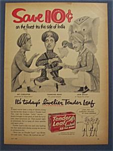 1957  Tender Leaf Tea Bags w/ Linkletter, Bailey & Ford (Image1)