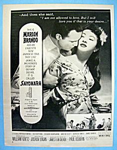1957 Sayonara with Marlon Brando & Milko Taka (Image1)