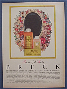 1956 Breck Shampoo w/Bottles of Shampoo & Creme Rinse (Image1)