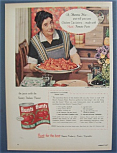 Vintage Ad: 1956 Hunt's Tomato Paste (Image1)