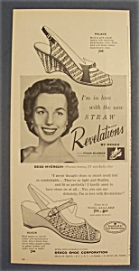 Vintage Ad: 1956 Straw Revelations w/ Bess Myerson (Image1)