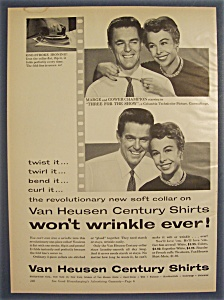 1954 Van Heusen Century Shirts / Marge & Gower Champion