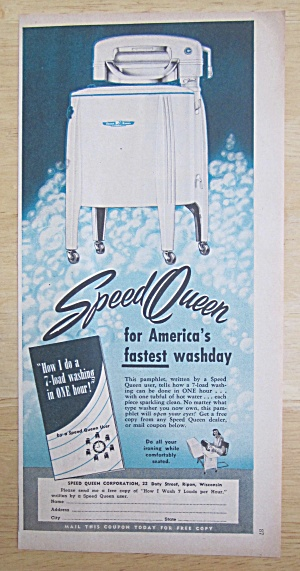 1950 Speed Queen Washing Machine with 7 Load Washing (Image1)