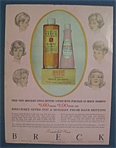 1962  Breck  Shampoo  &  Creme  Rinse (Image1)