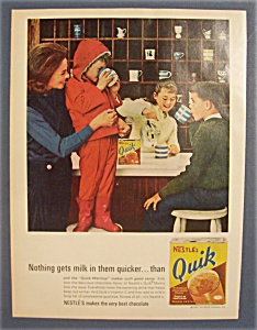 Vintage Ad: 1963  Nestle's  Quik (Image1)