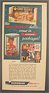 1963 Horsman Dolls With Most Wanted Dolls