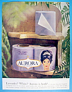 1964 Aurora Toilet Tissue with Woman's Face (Image1)