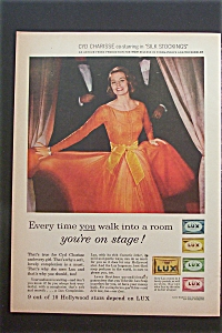 Vintage Ad: 1957 Lux Soap With Cyd Charisse