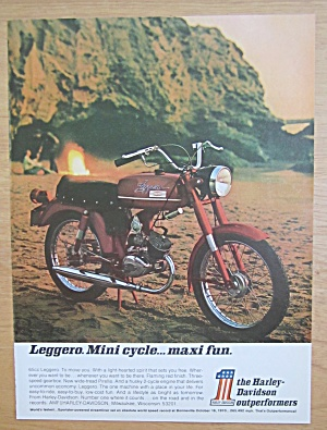 1971 Harley Davidson Leggero with 65cc Leggero (Image1)