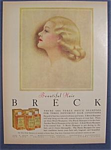 Vintage Ad: 1955 Breck Shampoo (Image1)