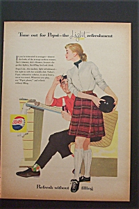 1957 Pepsi Cola (Pepsi) with Man Holding a Bottle (Image1)
