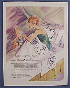 1960 Wamsutta Supercale & Debacle with Woman in Bed (Image1)