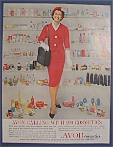 1960 Avon Cosmetics with the Avon Lady  (Image1)