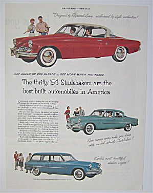 1954 Studebaker with the Champion, Commander & Wagon (Image1)