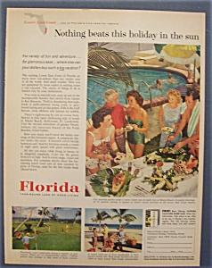 Vintage Ad: 1960 Florida (Image1)