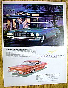 Vintage Ad:1959 Oldsmobile Super 88 Holiday Sportsedan
