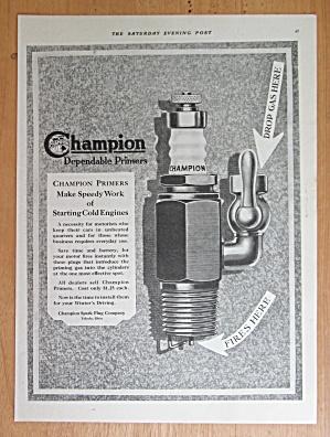 1921 Champion Spark Plugs with the Spark Plug  (Image1)