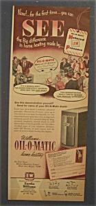 1952  Williams  Oil - O - Matic  Home  Heating (Image1)
