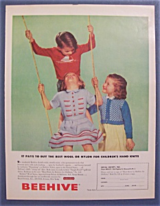 1952  Beehive  Wool  Yarns (Image1)