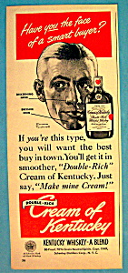 Vintage Ad: 1949 Schenley Whiskey By Norman Rockwell
