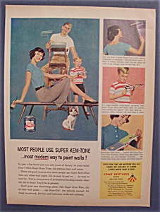 1959 Super Kem Tone Paints with a Group of People (Image1)
