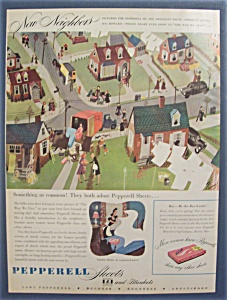1946  Pepperell  Sheets  &  Blankets (Image1)