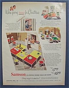 1948  Samson  Folding  Table  &  Chairs (Image1)