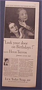 1931 Lux Toilet Soap with Woman Looking at her Face (Image1)
