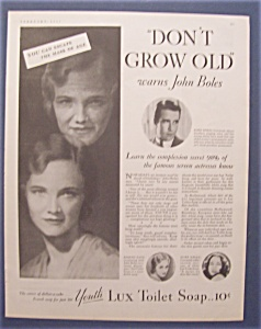 1931  Lux  Toilet  Soap  with  John  Boles (Image1)