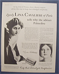 1931  Palmolive  Soap (Image1)