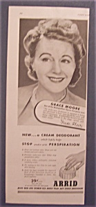 1945 Arrid Deodorant With Grace Moore