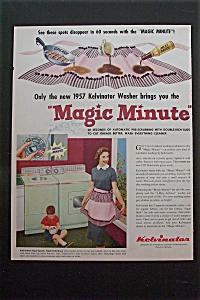 1957 Kelvinator Washer w/ Magic Minute Washing Machine (Image1)