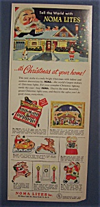 1954 Noma Christmas Lites with a Decorated House (Image1)