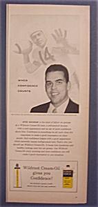 Vintage Ad: 1956 Wildroot Cream-Oil with Otto Graham (Image1)
