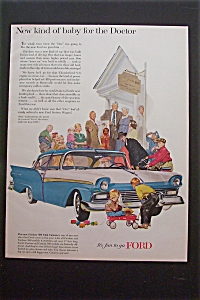 1957 Ford with the New Fairline 500 Club Victoria  (Image1)