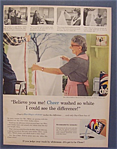1957  Cheer  Detergent (Image1)