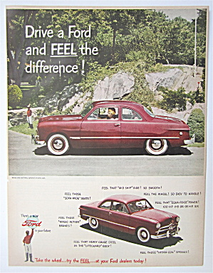 1949 Ford with a Red Ford (Image1)