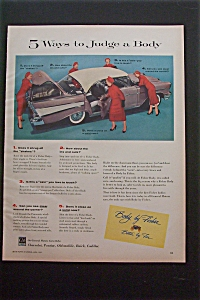 1957 Body By Fisher with 5 Ways to Judge a Body (Image1)