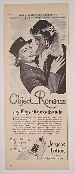 1944 Jergens Lotion with Elyse Knox (Image1)